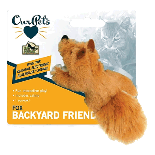 0ACT10785 - 6pc. per unit - Play N Squeak Backyard Fox