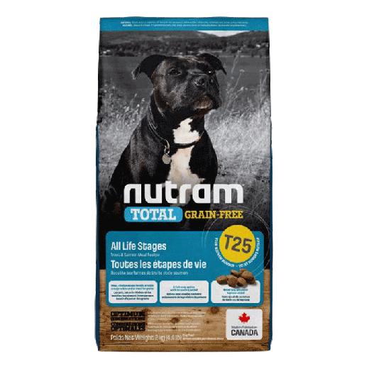 18533 – T25 Nutram Total Grain-Free Salmon & Trout Dog Food 6x2KG