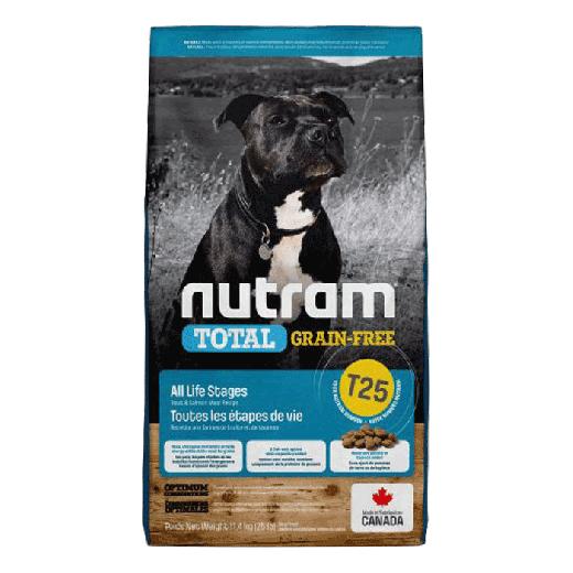 18534 – T25 Nutram Total Grain-Free Salmon & Trout Dog Food 11,4KG