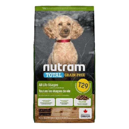 18546 - T29 Nutram Total Grain-Free Lamb & Legumes Natural Dog Food 6x2KG