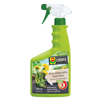 2659102003 - 12 pc. per pallet COMPO Anti-Weeds & Antimos Spray / Ready Total Weed Killer 1L