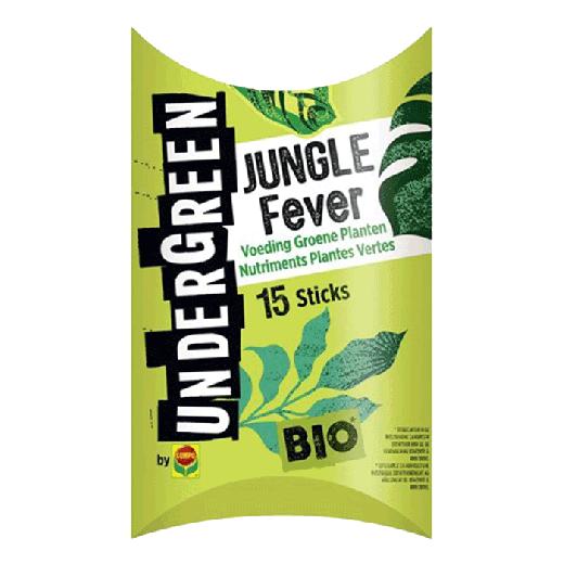 2830502017 - 10pc. per box - UNDERGREEN Jungle Fever Bio Nutrition Green Plants Bars