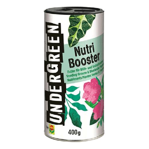 2830902004 - 20pc. per box - UNDERGREEN Nutri Booster Nutrition Green & Flowering Plants 400gr