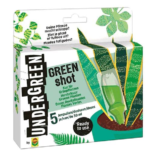 2831002004 - 12pc. per box - UNDERGREEN Green Shot Recovery Cure Green Plants 150ML