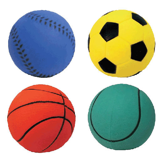 DH014 - 12pc. per unit - Dog Life Assorted Sports Ball