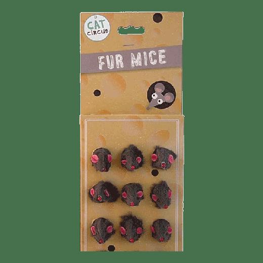 EA125 - 24pc. per unit - Cat Circus Fur Mouse On Display Card