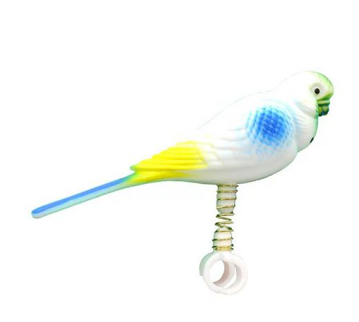 FY011 - 6pc. per unit - Beaks Parakeet on Spring