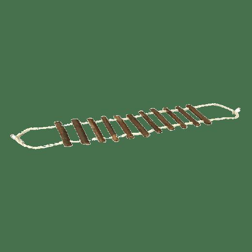 FA200 - 6pc. per unit - Beaks Natural Rope and Log Bridge Small
