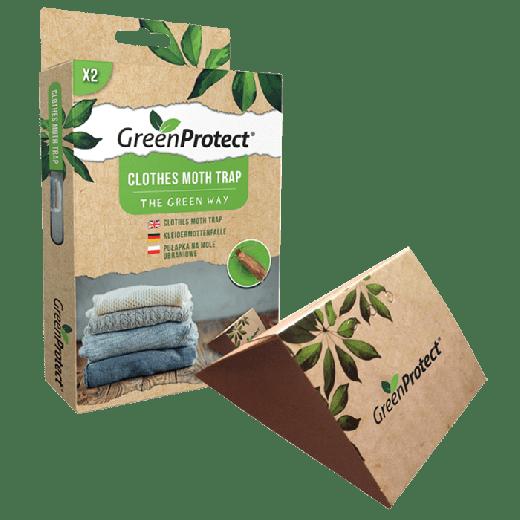 GPCMT1 – 12pc. per box - Green Protect Clothes Moth Trap