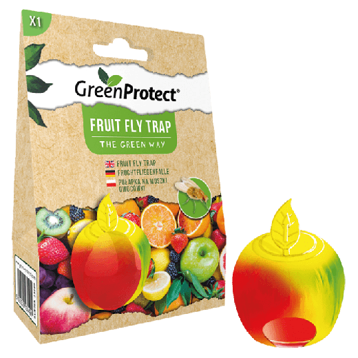GPFFT1 – 6pc. per box – Green Protect Fruit Fly Trap