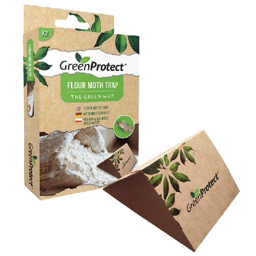 GPFMT1- 12pc. per box – Green Protect Flour Moth Trap