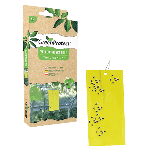 GPYIT1 – 8pc. per box – Green Protect Yellow Insect Trap