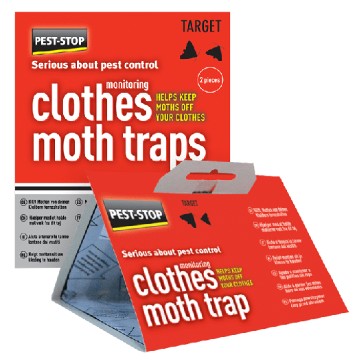 PSCMT - 12pc. per box - Pest-Stop Clothes Moth Trap