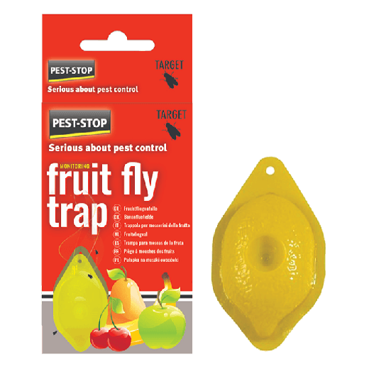 PSFFT - 8pc. per box - Pest-Stop Fruit Fly Trap