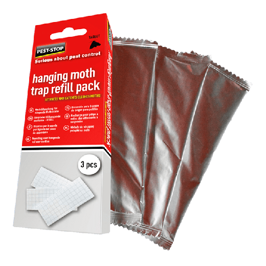 PSHMTR3 - 20pc. per box - Pest-Stop Hanging Moth Trap Refill