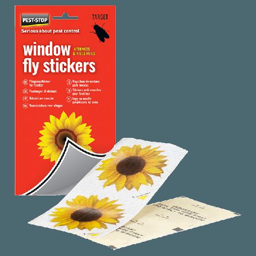 PSWFS - 20pc. per box - Pest-Stop Window Fly Stickers